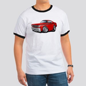 Duster Red-Black Car Ringer T