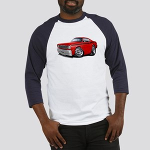 Duster Red-Black Car Baseball Jersey