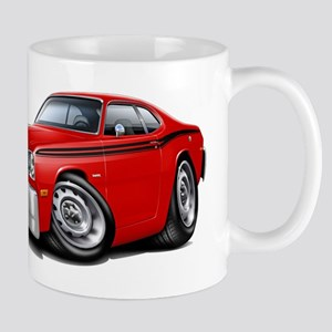 Duster Red-Black Car Mug