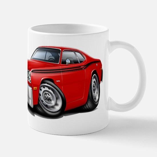 Duster Red-Black Car Mug