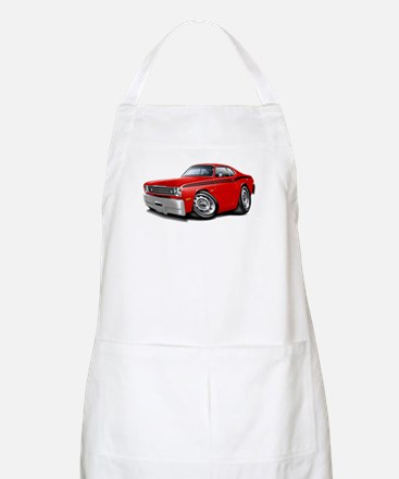 Duster Red-Black Car Apron