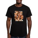 Eraserhead Men's Fitted T-Shirt (dark)