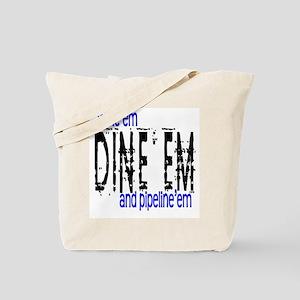Wine'em Dine'em Tote Bag