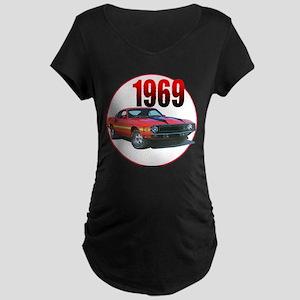 69GT500-C8trans Maternity T-Shirt