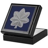 Air force lieutenant colonel Square Keepsake Boxes