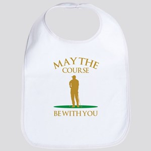 May The Course Be With You Bib
