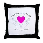Loving Hands Throw Pillow