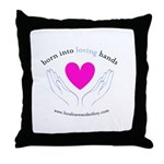 Loving Hands Throw Pillow