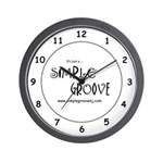 Simple Groove Wall Clock