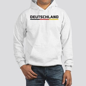 Soccer DEUTSCHLAND Stripe Hooded Sweatshirt