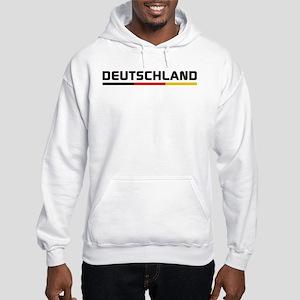 Soccer DEUTSCHLAND Stripe Hooded Sweatshirt