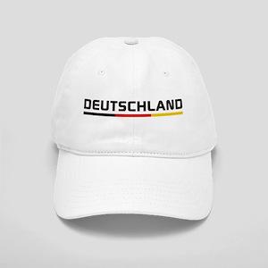 Soccer DEUTSCHLAND Stripe Cap