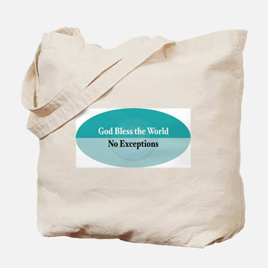 Bless the World Tote Bag