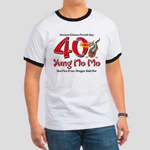 Yung No Mo 40th Birthday Ringer T