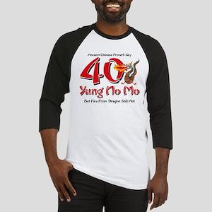 Yung No Mo 40th Birthday Baseball Jersey