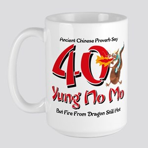 Yung No Mo 40th Birthday Large Mug