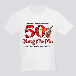 Yung No Mo 50th Birthday Kids Light T-Shirt