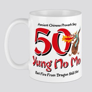 Yung No Mo 50th Birthday Mug