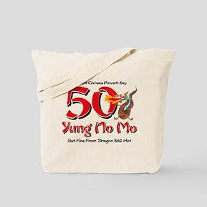 Yung No Mo 50th Birthday Tote Bag