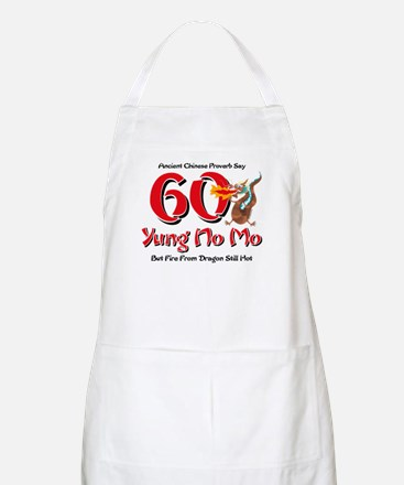 Yung No Mo 60th Birthday Apron
