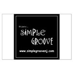 Simple Groove Large Poster