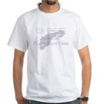 Tae Kwon Do Place Foot Here White T-Shirt