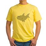 Little Shark Yellow T-Shirt