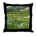 wine country silverado trail Throw Pillow