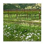 wine country silverado trail Tile Coaster