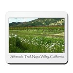 wine country silverado trail Mousepad