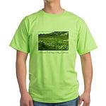 wine country silverado trail Green T-Shirt