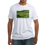 wine country silverado trail Fitted T-Shirt