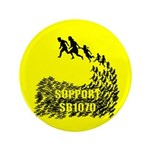"""Support SB1070 3.5"""" Button (100 pack)"""