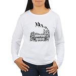 Support SB1070 Women's Long Sleeve T-Shirt