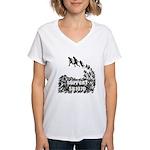 Support SB1070 Women's V-Neck T-Shirt