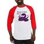 Vipers Eat Mice Baseball Jersey