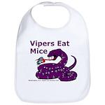Vipers Eat Mice Bib