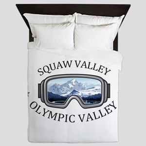 Squaw Valley - Olympic Valley - Cali Queen Duvet