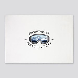 Squaw Valley - Olympic Valley - C 5'x7'Area Rug