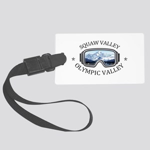 Squaw Valley - Olympic Valley Large Luggage Tag