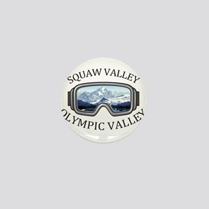 Squaw Valley - Olympic Valley - Cali Mini Button