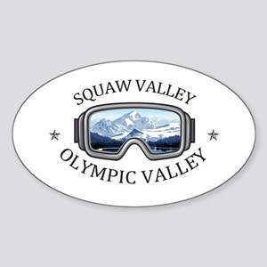 Squaw Valley - Olympic Valley - Californ Sticker