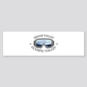 Squaw Valley - Olympic Valley - C Bumper Sticker