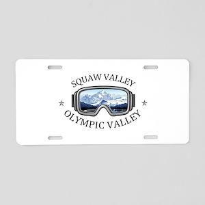 Squaw Valley - Olympic Va Aluminum License Plate