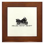 Valley Motor Escort Framed Tile