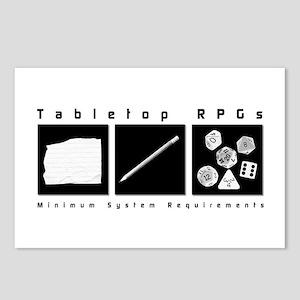 Tabletop RPG Postcards (Package of 8)