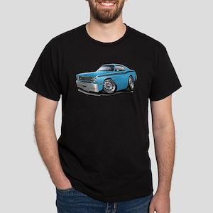 Duster Lt Blue-Black Car Dark T-Shirt