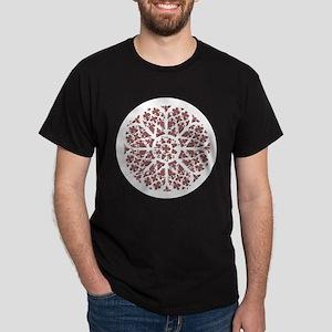 Muted Gothic Rose Dark T-Shirt