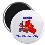 "Berlin: The Divided City 2.25"" Magnet (10 pack)"