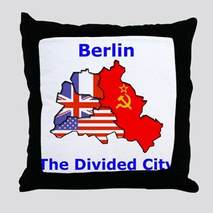 Berlin: The Divided City Throw Pillow